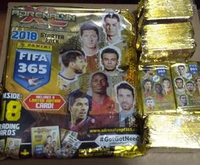 Starter + 10 Envelope Lacrados Fifa 2018 Adrenalyn Cards