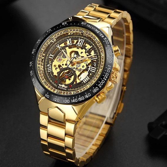 Relógio T Winner Original Automático Super Barato