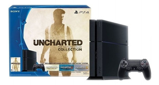Sony PlayStation 4 500GB Uncharted: The Nathan Drake Collection Bundle jet black