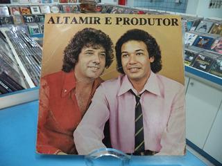 Lp/vinil Altamir E Produtor Minha Prece