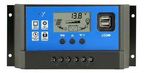 Controlador De Carga Solar 12/24v 50 Ampéres Pronta Entrega