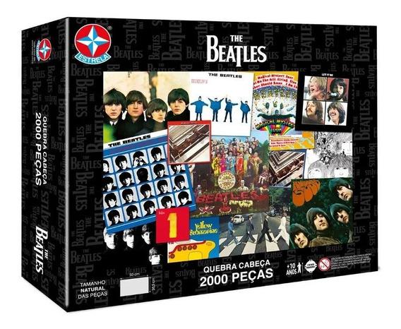 Quebra Cabeca The Beatles 2000 Pecas Estrela