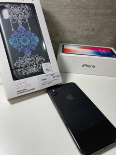 iPhone X 64gb Space Gray Em Estado De Novo