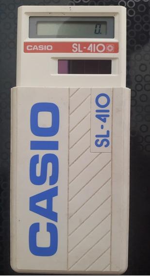 Calculadora Casio Sl - 410 (raridade/funciona)