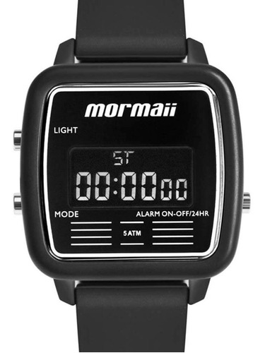 Relógio Mormaii Feminino Preto Digital Mojh02av/8p