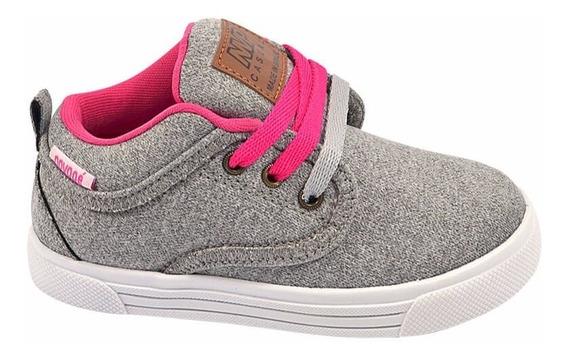 Bota Infantil Novopé Menina Sneakers Lançamento