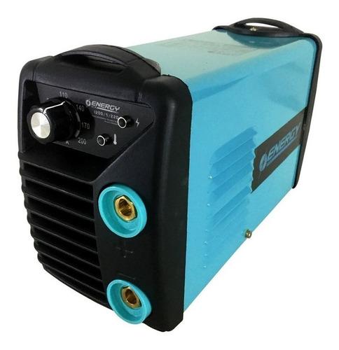 Soldadora Inverter 200 Amp Energy 4mm Mascara Fotocromatica