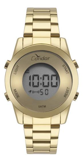 Relógio Condor Feminino - Digital Dourado Cobj3279aa/4d