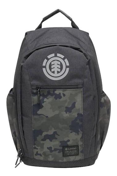 Mochila Element Sparker Backpack All Black Camo Hombre