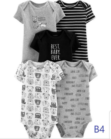 Carters Kit Body Importados C/5 Pçs Menina/menino Original