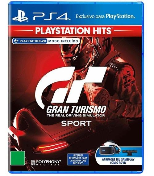 Gran Turismo Sport Ps4 Mídia Física Original