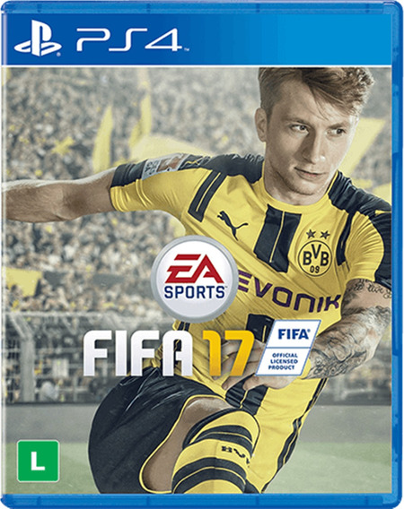 Jogo Fifa 17 Ps4 Playstation 4 Mídia Física Lacrado Nfe