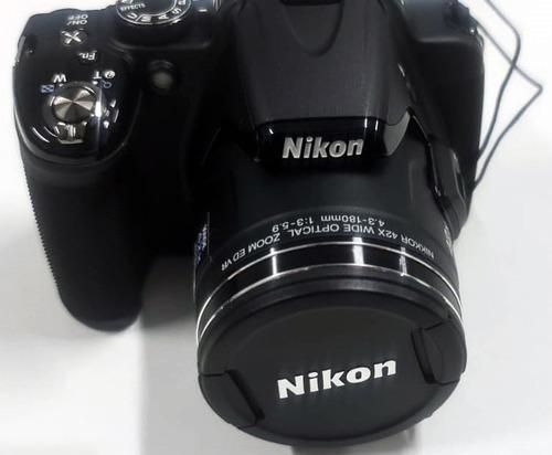 Câmera Nikon P520 18.1mp Youtuber Zoom 42x Full Hd