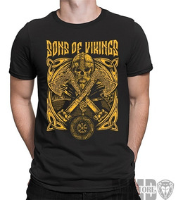 Camiseta Camisa Vikings Sons Of Odin Ivar Ragnar Ubbe Bjorn
