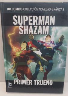 Dc Salvat Superman Shazam Primero Trueno 12 Novelas Graficas