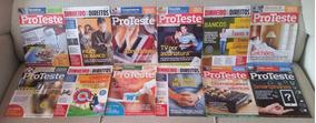 Proteste Associação De Consumidores 24 Revistas 12x S/ Juros
