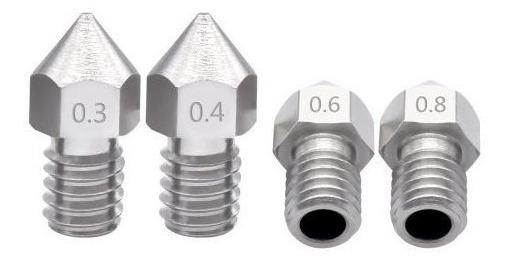 Bico Inox 0,4 X 1,75 Hotend Impressora 3d