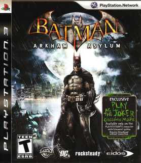 Batman: Arkham Asylum Ps3 Original Entrega Inmediata