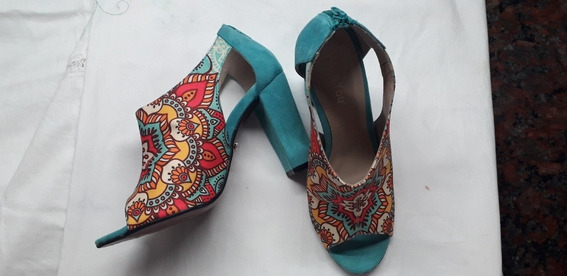 Zapatos De Mujer Floreados