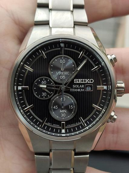 Relógio Seiko Solar Titanium Ssc367
