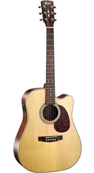 Guitarra Electroacústica Cort Mr600f Ns C/funda Rd Music