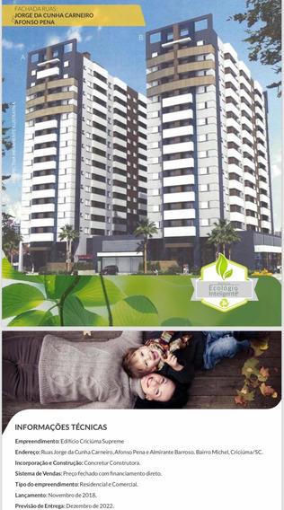 Excelente Apartamento Em Bairro Nobre De Criciúma