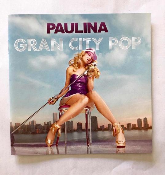Paulina Rubio Cd Gran City Pop