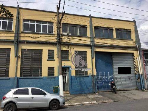 Galpão Para Alugar, 1968 M² Por R$ 40.000,00/mês - Brás - São Paulo/sp - Ga0523