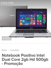 Nortebook Samsung