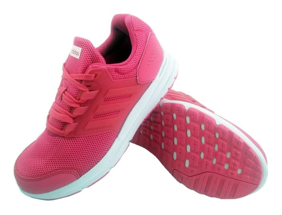 Zapatillas adidas Galaxy 4 Rosa Mujer Full Eezap