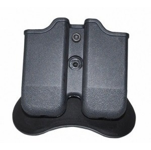 Porta Carregador Tático De Polímero Duplo Para Glock