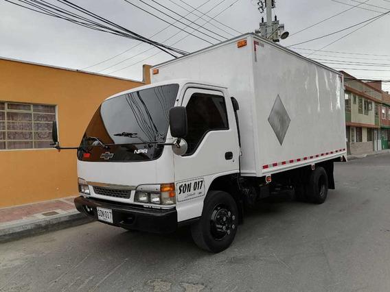 Chevrolet Npr Camion Furgon Estacas Economico Barato Publico