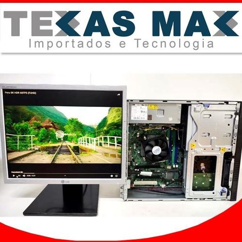 Computador I5 Lenovo C/ Sdd Monitor De 17 E Teclado E Mouse