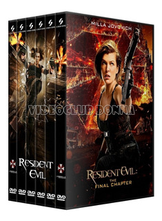 Resident Evil Saga Completa Dvd 6 Peliculas Latino Coleccion