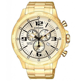 Relógio Citizen Masculino Promaster Dourado Tz30946g