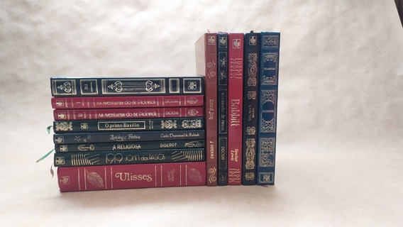Lote 01 - Obras Primas Da Literatura - Abril Cultural