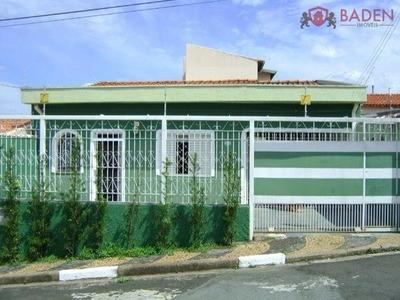 Casa Residencial Em Campinas - Sp, Vila Italia - Ca00674