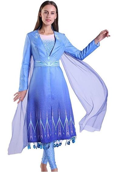 Disfraz Frozen 2 Elsa (adulto - Mujer)