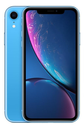 Imagem 1 de 6 de Apple iPhone XR 256 GB - Azul