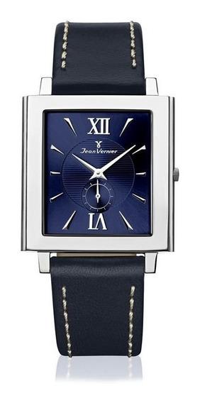 Relógio Jean Vernier Masculino Jv0831 Ultra Slim Prateado