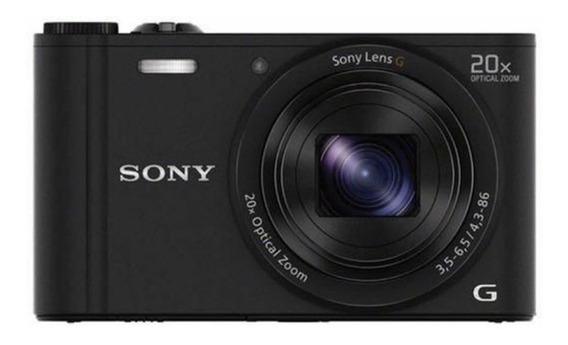 Câmera Sony Wx350 Zoom De 20x Sensor Cmos Exmor Wifi
