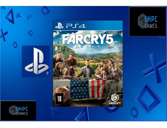 Far Cry 5-aluguel 15 Dias -ps4-playstation 4