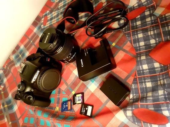 Câmera Fotográfica Canon Eos Rrbel T3 Semi Profissional