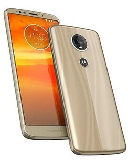 Motorola Moto E5 Plus Dourado 16gb Semi Novo