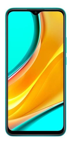 Imagem 1 de 6 de Xiaomi Redmi 9 (Global) Dual SIM 32 GB ocean green 3 GB RAM
