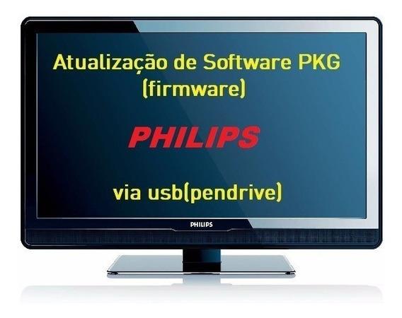 Atualização Philips 43pfg5100 Pkg Via Pen Drive