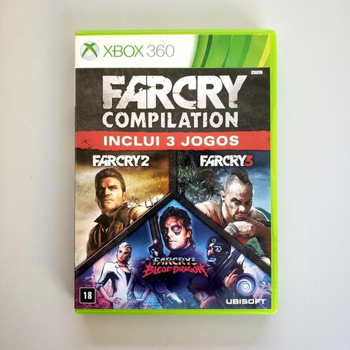 Far Cry Compilation Far Cry Original Xbox 360 Midia Física