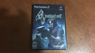 Resident Evil 4 Nuevo Sellado Ps2 Etiqueta Negra