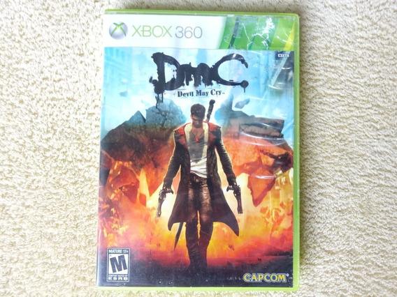 Jogo Dmc Devil May Cry Xbox 360 Original