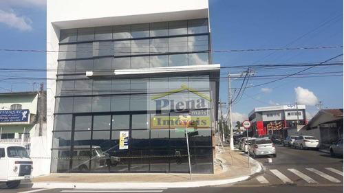Salão Para Alugar, 250 M² Por R$ 15.000,00/mês - Centro - Hortolândia/sp - Sl1031